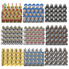 Disney Medieval Dwarf Elves Soldiers Building Blocks Roman Knight Lord Warrior Figures Bricks Toys For Kids Christmas Gifts