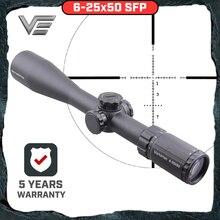 Векторная оптика стрелок 6-25x50 тактический пистолет прицел MPT1 сетка низкая башенка 1/10 мил регулировка с креплением