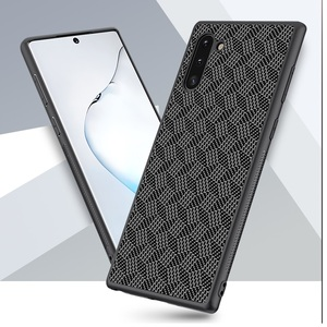 Image 4 - Thin Slim for Samsung Galaxy Note 10 Plus Case Nillkin Synthetic Fiber Carbon Back Cover Nylon for Samsung Galaxy Note 10 Case