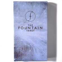 The Fountain Tarot Illustrated Deck Oracle Guide Book Waite Rider 79 Card Divination Fortune Telling Kit albano waite tarot deck 78 карт инструкция aw78 коробка на англ яз