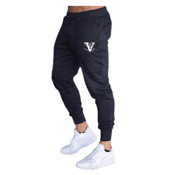 Siłownie spodnie sportowe do biegania męskie spodnie dresowe spodnie dresowe dla joggerów trening gimnastyczny spodnie Slim męskie Fitness Outdoor Jogging Workout Sport tanie i dobre opinie GJKCN Poliester Sznurek JH875 Pełnej długości Bieganie Pasuje prawda na wymiar weź swój normalny rozmiar