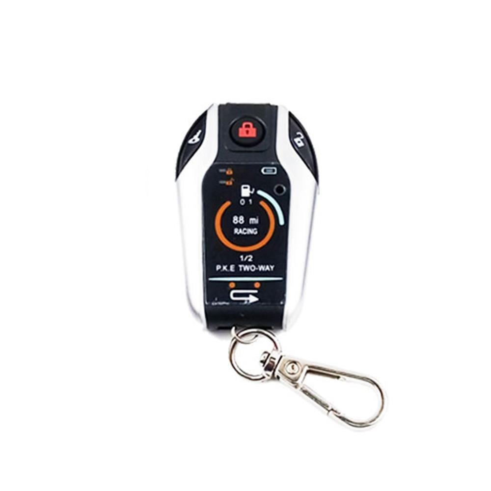 Alarme de moto bidirectionnelle système de sécurité antivol alarme de Vibration de moto démarrage du moteur à distance pour Honda YAMAHA Suzuki