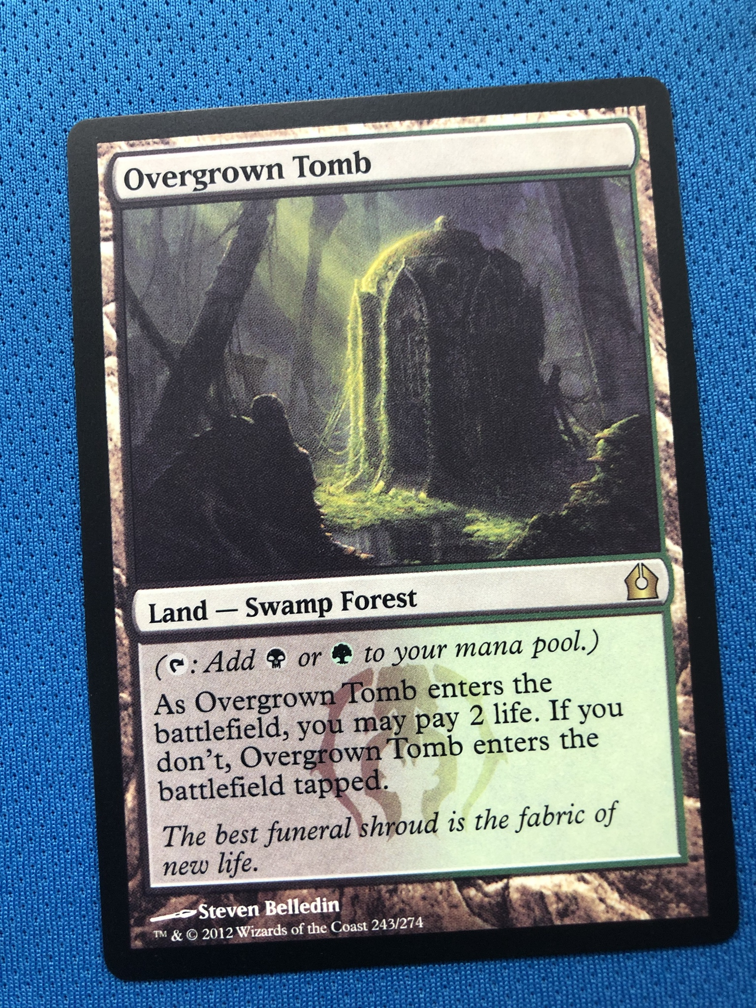 Overgrown Tomb 	 RTR (Return To Ravnica) Magician ProxyKing 8.0 VIP The Proxy Cards To Gathering Every Single Mg Card.