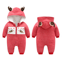 baby christmas costume newborn winter clothes for girls boys romper coat suit long sleeve outfit santa claus costume