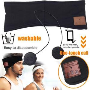 Image 3 - JINSERTA Bluetooth 5.0 음악 헤드 밴드 헤드셋, 요가 체육관 수면 스포츠 이어폰 실행을위한 마이크 무선 이어폰 헤드폰 포함