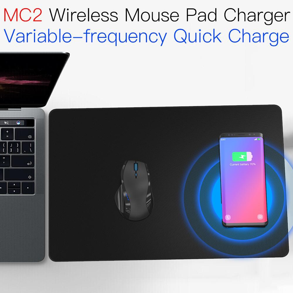 JAKCOM MC2 Wireless Mouse Pad Charger Super value than ssd m2 nvme cool electronics gadgets wireless charger wood portable image