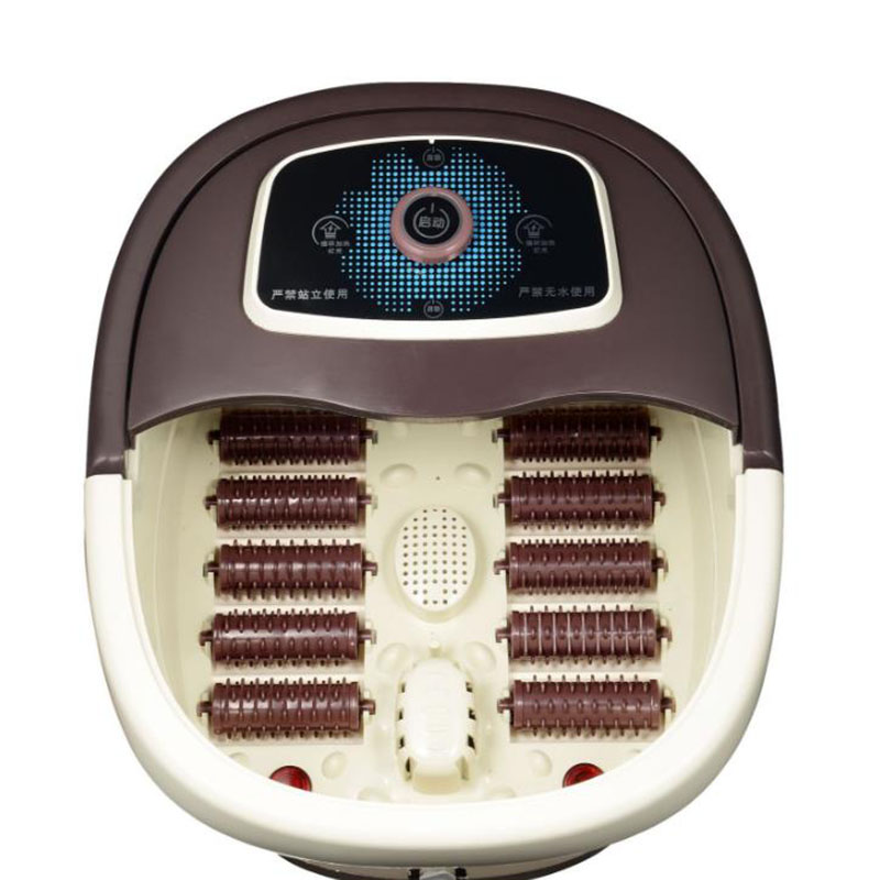 Fumigation And Massage Function Of Electric Foot Bath With Automatic Heating In Foot Bath