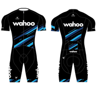Wahoo Ciclismo Skinsuiut para bicicletas de triatlón Aero Bicicleta mono desgaste profesional overol MTB Tri traje kit para carretera Ropa de Ciclismo