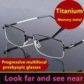 Близорукие к дальнему дуальному дальнозоркости очки для дальнозоркости мужские прогрессивные мульти-фокус дальнозоркие очки Интеллектуа...