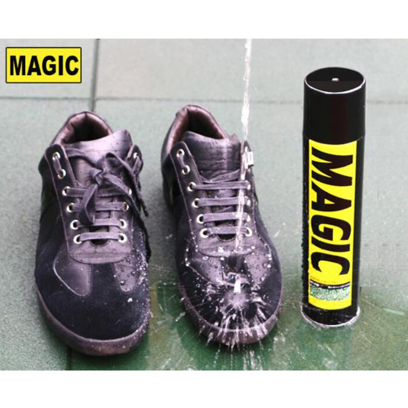 Magic All Weather Protector Water Repellent Spray Leather Suede Shoes Protect