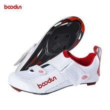 Boodun/Мужская обувь для велоспорта; Обувь шоссейного велосипеда