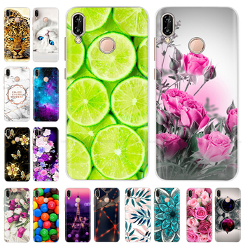 цена на Flower Case for Huawei P20 Lite Case Silicone Back Cover TPU Phone Case For Huawei P20lite P 20 Lite Full Protective Coque Etui