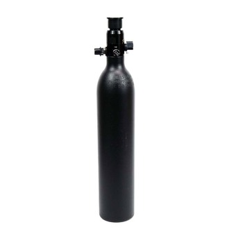 New PCP Paintball Cylinder High Pressure Tank 0.5L Air Tank Hunting Bottle 3000psi/200BAR M18*1.5 Thread Black