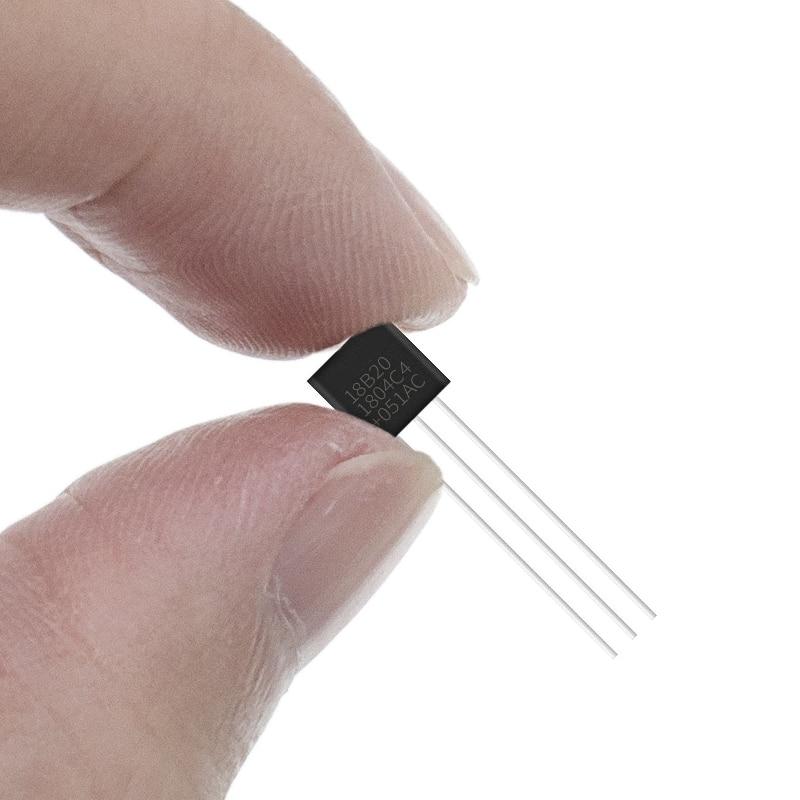 10 шт. DS18B20 18B20 18S20 TO-92 микросхема термометр Температура Сенсор