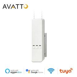Avatto smart motorizou as persianas do rolo chain, tuya wifi controle remoto voz sombra motor de acionamento do obturador trabalho com alexa/casa do google