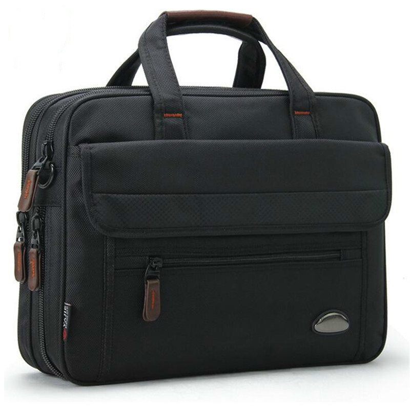 New Women Briefcase Men Laptop Mens Office Bags For 14.1 Inch Computer Waterproof Good Oxford Portable Bolso Hombre Sac Homme