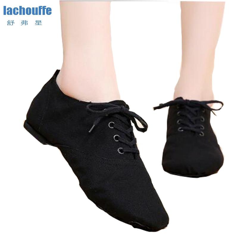 Female Dance Shoes Leather/Rubber Sole Red Latin/Samba/Jazz Dance Shoe For Men Womens Black Shoes Flat 1cm Dancing Shoes EU30-45