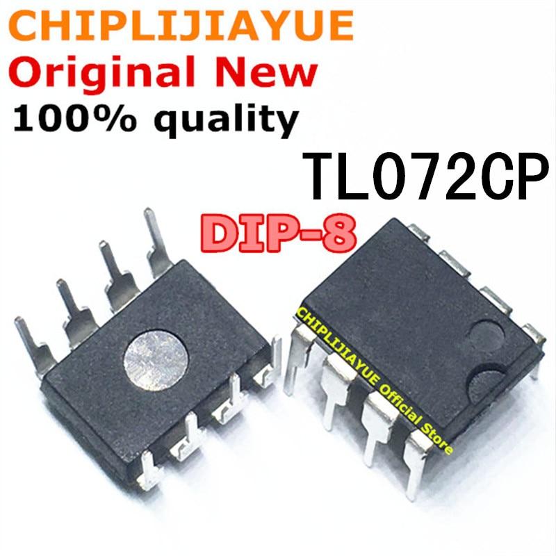 10PCS TL072CP DIP-8 TL072CN TL072C TL072 072 DIP8 New and Original IC Chipset