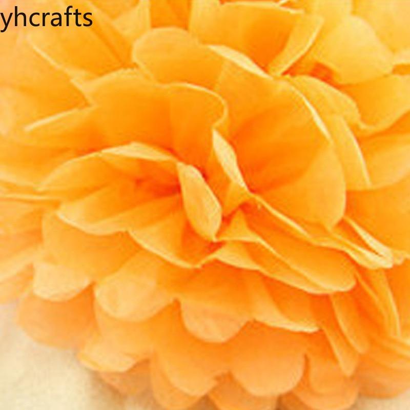 5PCS/Lot 20cm Children Hand-made Paper Flower Ball Birthday Holiday Party Decorative DIY Honeycomb Ball Flower Crafts Diy Kids