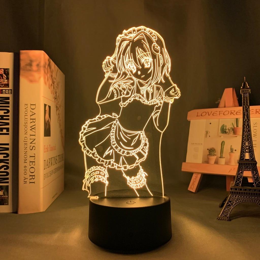 H9b9152423bb24d9db833d9a847183acbv Luminária Dxd koneko toujou led night light para decoração do quarto nightlight presente de aniversário anime 3d lâmpada koneko toujou high school dxd