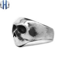 Original Handmade Silver Jewelry Art House Dark 925 Silver Simple Ring Men And Women цена
