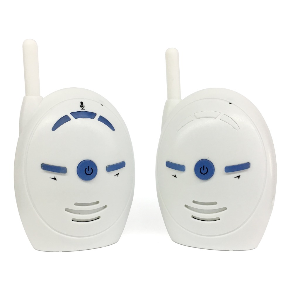 CYSINCOS 2.4GHz Wireless Baby Portable Digital Audio Baby Monitor Sensitive Transmission Two Way Talk  Cry Voice