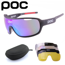 Cycling Sunglasses Eyewear Wind-Sand-Goggles POC 5-Lens-Set Polarized Mountain-Road-Bike