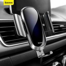 Автомобильный держатель baseus для iphone samsung мобильный