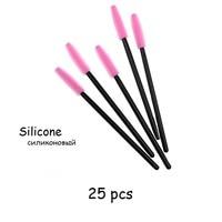 25pcs Pink Black