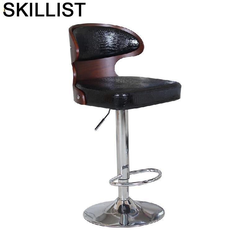 Fauteuil Barkrukken Sandalyeler Banqueta Todos Tipos Sedia Sgabello Sandalyesi Hokery Stuhl Cadeira Stool Modern Silla Bar Chair