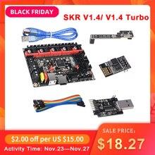 BIGTREETECH BTT SKR V1.4, 32 bits, carte SKR V1.4, Turbo, Mode DCDC V1.0, WIFI, BTT, écrivain, mise à niveau de SKR V1.3, pièces dimprimantes 3d