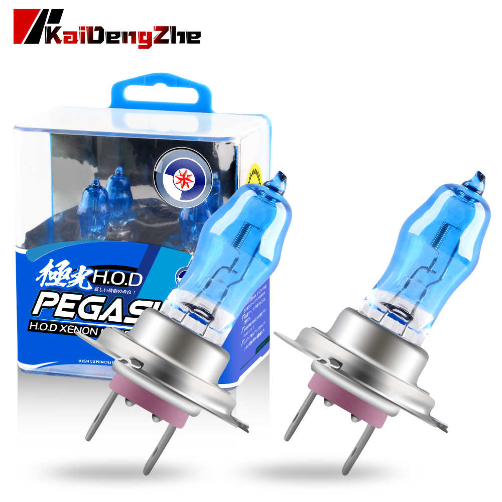 2Pcs Super White Halogeenlamp H1 H3 H4 H7 H9 H11 9006 Auto Halogeen Lamp Mistlampen 100W 12V 6000K Motorcycle Auto Koplamp Lamp