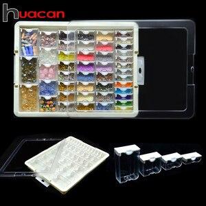 Image 1 - Huacan 새로운 다이아몬드 페인팅 스토리지 박스 액세서리 5d DIY 다이아몬드 자수 모자이크 도구