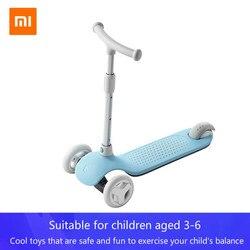 Новый детский скутер XIAOMI MIJIA MITU, балансирующая способность, детская игрушка-ходунок, подарок на автомобиль