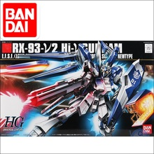 Gundam Model HG 1/144 RX-93 V2 Hi NU GUNDAM READY PLEAYER ONE  Armor Unchained Mobile Suit Kids Toys