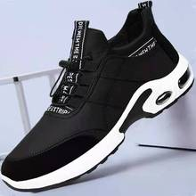Men Sneakers Casual Air Cushion Shoes Black Breathable Mesh Running Shoes Mens Casual Sprots Shoe Tenis Masculino Male Sneaker