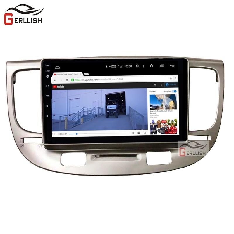 Android Car Multimedia Kia Rio Car Dvd 2005 2006 2007 2008 2009 2010 Car Radio Gps Navigation Bluetooth IPS Screen 4GB + 64GB