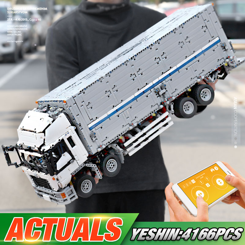 MOULD KING 13139 The MOC-1389 Wing Body Truck