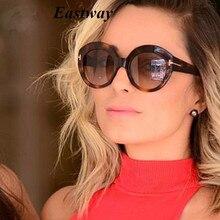 Eastway Модные Винтажные брендовые дизайнерские классические круглые сексуальные оправа Женская Солнцезащитные очки для путешествий женские солнцезащитные очки UV400
