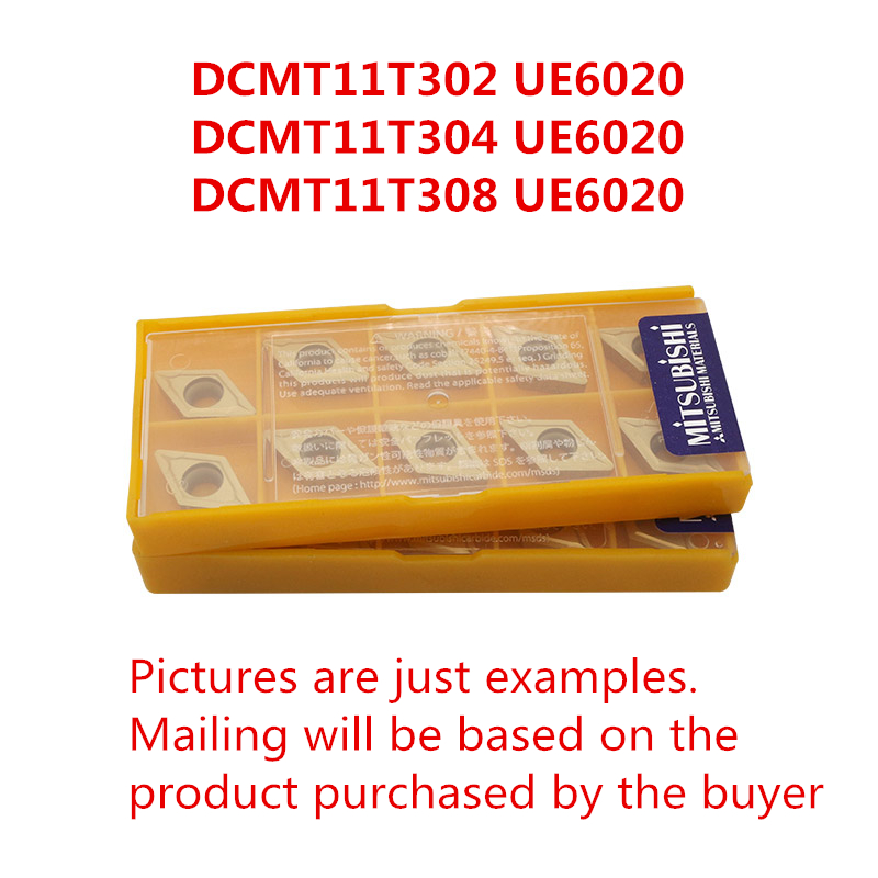 MITSUBISHI DCMT11T302 UE6020/DCMT11T304 UE6020/DCMT11T308 UE6020 CNC Turning Carbide Inserts Steel, Stainless Steel Original