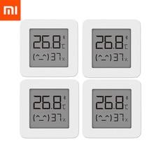 XIAOMI Mijia Bluetooth Digital Thermometer 2 Wireless Smart Temperature Humidity Sensor LCD Screen Digital Moisture Meter