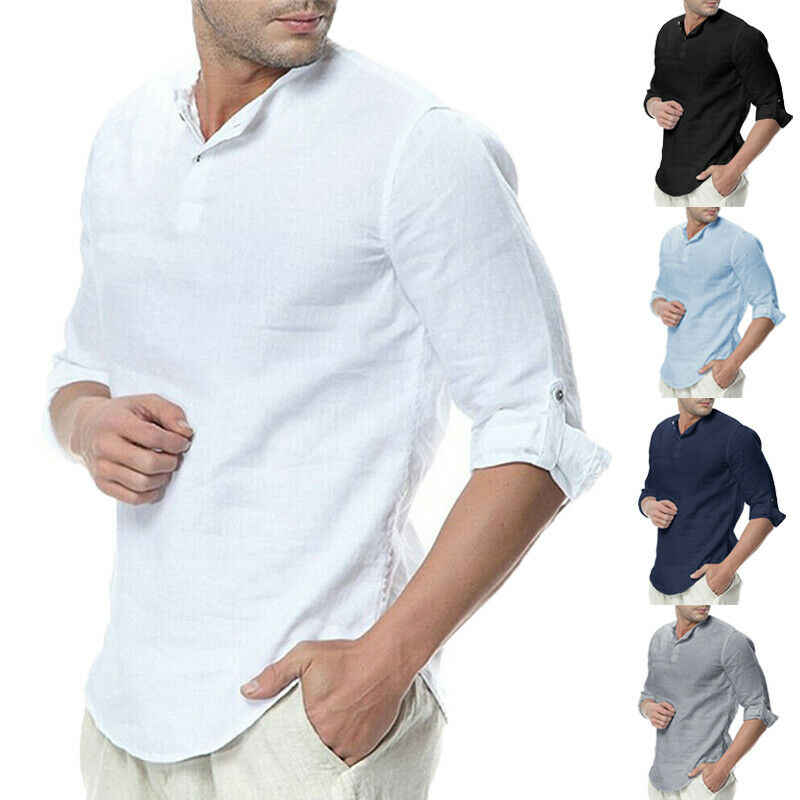 Mannen Nieuwe Casual Trui T Shirs Tops Zomer Mannen Mannelijke Slim Fit Half Sleeve Solid Tee Tops Soft Cool tops
