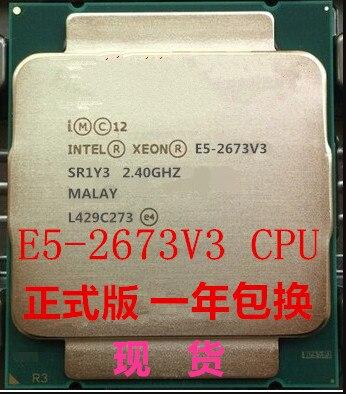 E5 2673 V3 2011 12 ядер 24 потока, 2,4G 2011
