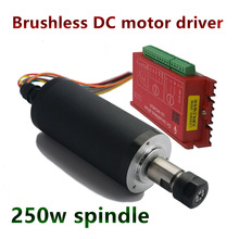 Motor-Driver Spindle-Motor 250w Brushless 12000rpm ER11 And 42mm DC Diameter 24VDC