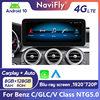 8G + 128G Android 10 samochodowy odtwarzacz dvd radio GPS odtwarzacz nawigacyjny dla Mercedes Benz C klasa W205 2014 2015 2016 2017 2018 NTG 5.0 z WIFI