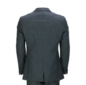 Image 3 - 2020 Mens Suits Mens Wool 3 Pieces Two Button Tweed Suit Herringbone Check Retro Peaky Blinders Tailored Fit NEW