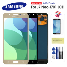 цена на 5.5'' For Samsung Galaxy J7 neo J701 J701F J701M J701MT LCD Display Touch Display Digitizer Assembly Replacement Repair Parts