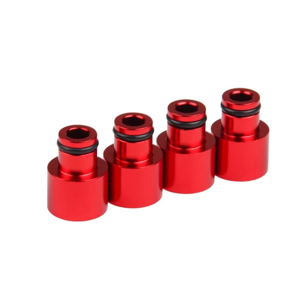 for B16 B18 D16Z D16Y Aluminum Alloy 4pcs Fuel Injector Hat Nozzle Modified Auto Parts Adapter Dedicated Flow