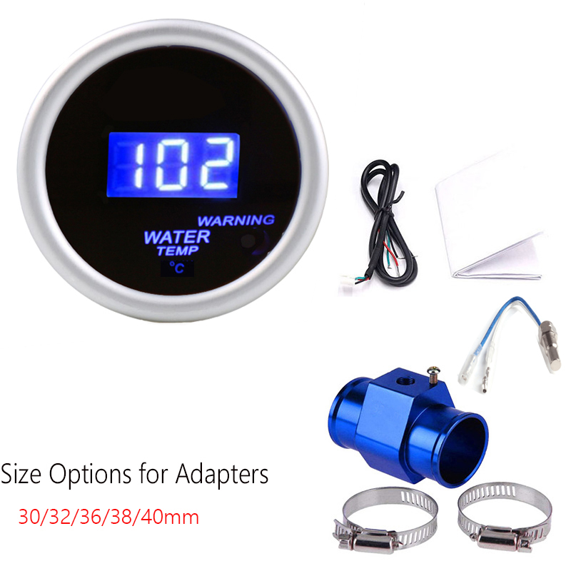 Waterproof probe Thermometer Car Water Celsius Temperature Display Gauge Meter