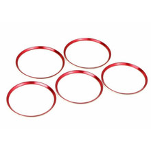 5PCS Air Vent Outlet Trim Rings For Mercedes Benz CLA GLA Class 2013-2018 Accessories Parts Interior Mouldings(China)